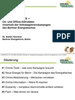 Präsentation Taschner ReCampaign 2014