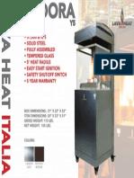 2014 - Lava Heat Italia -  Pandora Y5 Sell Sheet