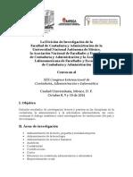 Definitiva Convocatoria XIX Congreso Internacional