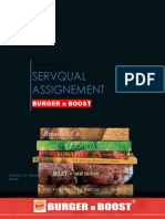 Servqual Assignment