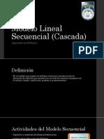 Modelo Lineal Secuencial (Cascada)
