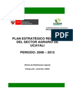 Per Agrario Ucayali 2008 2012