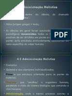 Slides de Administração Holística