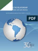 Dialogo Interamericano Relación EUA-América Latina_2012