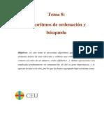 apuntes de ordenación para el trabajo con ejemplos en C