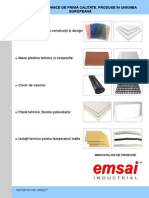 Emsai Catalog Materiale Dw