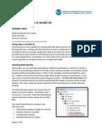Lidar Data Handler ArcGISv10 Tutorial