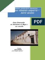 Resenha Genealógica Descritiva Famílias Ferreira Roquette & Brito Seabra
