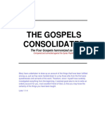 The Gospels Consolidated