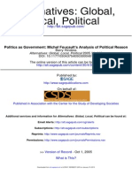 Barry Hindess_Politics as Government_ Michel Foucault's Analysis of Political Reason