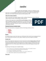 aquafina  management