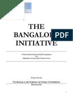 Bangalore Initiative Final