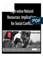 High Value Natural Resources