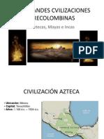 Las Grandes Cvilizaciones Precolombinas