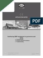 Interfacing DEIF Equipment, Application Notes 4189340670 UK_2013.10.04