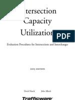 Intersection Capacity Utilization
