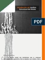 Análisis estructural del relato.