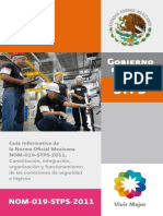 Guía NOM-019-STPS-2011