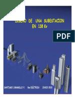 DISEÑO SUBESTACION ELECTRICA 138KV