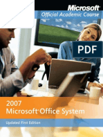 Microsoft 2007 Office System