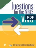 Questions for the MRCS Vivas