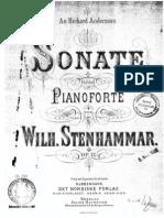Stenhammar Sonate Op.12 (1)