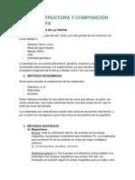 TEMA 1. Estructura y composición de la Tierra