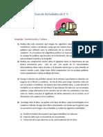 """Guía de tarbajo para estudiantes de 5to """"C"""" semana del 24/03 al 28/03"""