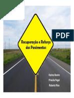 Patologias dos pavimentos flexíveis