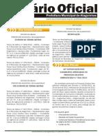 Diario Oficial Alagonhas 12-11-2013