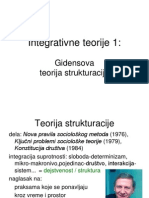 7 Integrativne 1 - Gidens