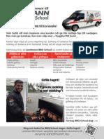 landmann bbq school 2014 - information