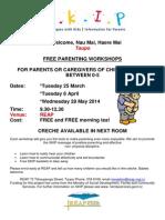 Taupo Workshops Term 1 2014 (2)