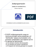 Clase II - Multiprogramacion