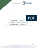 Manual de Usuario - Sistema de Solicitudes v5 1.3