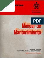 Manual de Mantenimiento Fedemetal