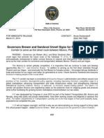 AZ Governor Brewer Reveals Signs for Future Interstate 11
