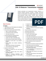 XG2330 - Full Featured E1 Tester