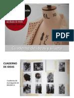 Cuaderno de Ideas y Silueta