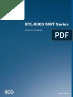 BTL 5000 Shockwave - Service Manual