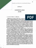 Carpio, A., Principios de filosofía. Cap. V. Platón