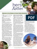 MAHM Newsletter Spring 2014