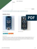 Arduino - ArduinoBoardNano