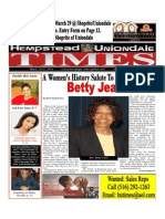 Hempstead Uniondale Times - March 20 - 27 2014 Special Women's Month Issue
