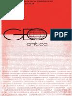 La Geografía en el curriculum de Ciencias Sociales (Horacio Capel)