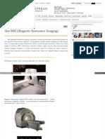 Www Duniaalatkedokteran Com 2010 10 Alat Mri Magnetic Resona
