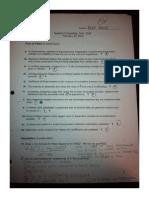 Econometrics - Test 1.1