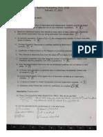Econometrics - Test 1.2