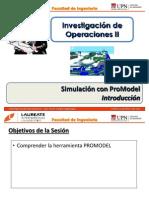 T3.1 IO II - UPN - Simulación con Promodel - Introducción