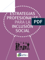 Estrategia s Profesional Es Inclusion Social